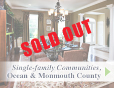 Single-family communities - Ocean and Monmouth county