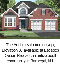 Andalucia elevation 3 at Escapes Ocean Breeze