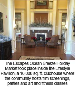 The Escapes Ocean Breeze Lifestyle Pavilion